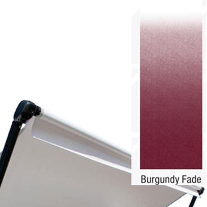 Picture of Lippert Solera Burgundy Fade Fabric 14'L X 8'Ext Power/ Manual Patio Awning V000286888 00-0359