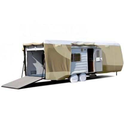 """Picture of ADCO Tyvek (R) Plus Gray Polypropylene Cover For 28' 1""""-30' Toy Haulers 34874 01-0148"""