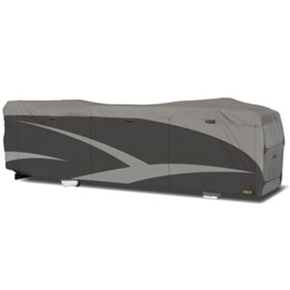 Picture of ADCO Designer SFS Aquashed (R) Gray Fabric/Poly Cover For 25'-28' Class A Motorhomes 52203 01-0227