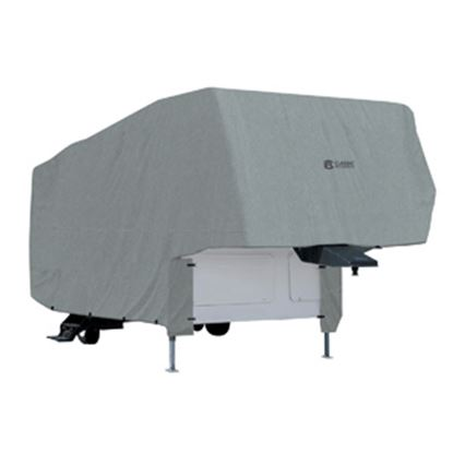 Picture of Classic Accessories PolyPRO (TM) 1 Poly Water Repellent RV Cover For 26-29' Fifth Wheel Trailers 80-151-161001-00 01-3722