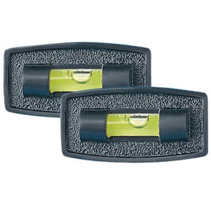 Picture of Hopkins  2-Pack Stick-On White Bubble Design RV Level 03925 03-0227