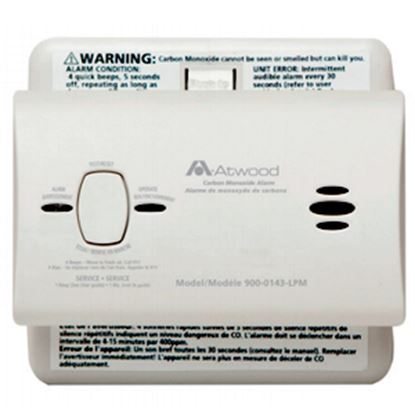 Picture of Dometic  White Battery Carbon Monoxide Detector 32701 03-0551