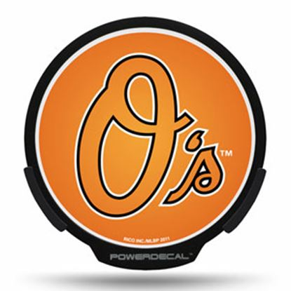 Picture of PowerDecal MLB (R) Series Baltimore Orioles Powerdecal PWR3801 03-1725