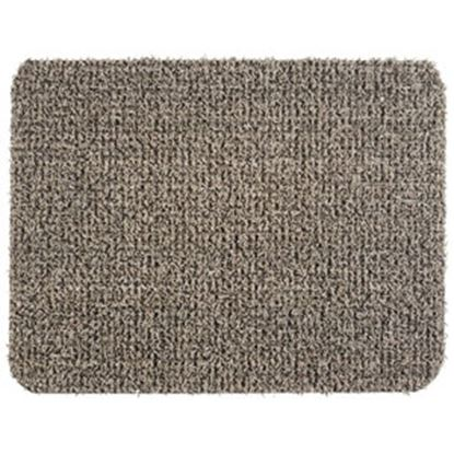 """Picture of Grass Worx  Earth Taupe Polyolefin18"""" x 24"""" Inside Door Mat 10372028 03-1900"""
