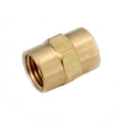 """Picture of Anderson Metal LF 7103 Series 1/2"""" FPT Brass Fresh Water Straight Fitting 706103-08 06-9202"""
