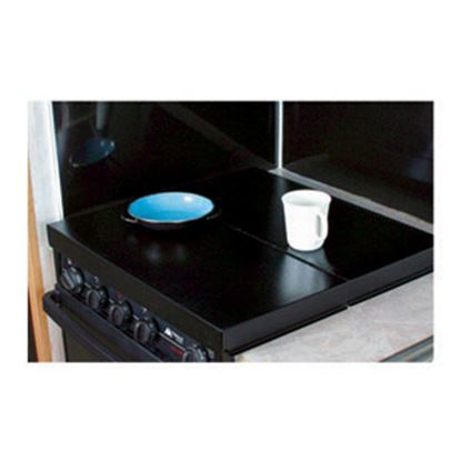 Picture of Camco  Black Steel Universal Fit Stove Top Cover 43554 07-0291