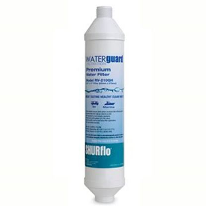 Picture of SHURflo Waterguard (TM) In-Line KDF-55 & Carbon Fresh Water Filter RV-210GH-KDF-A 10-0494