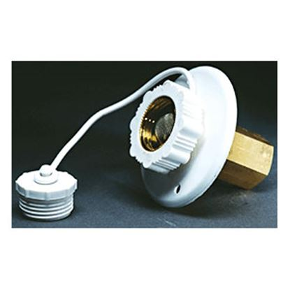 Picture of Aqua Pro  Aluminum Surface Mount Flange Fresh Water Inlet 27884 10-0683
