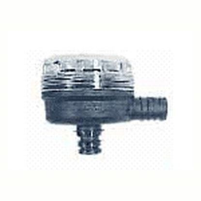 "Picture of Flojet  1/2"" Hose Barb x Quad Port 90 Deg Fresh Water Pump Strainer For Flojet 01740012A 10-0716"