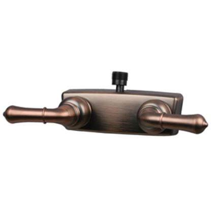 """Picture of Empire Brass  4"""" Bronze Coated Plastic Shower Valve w/Teapot Handles X-YOB53VBOB 10-2354"""