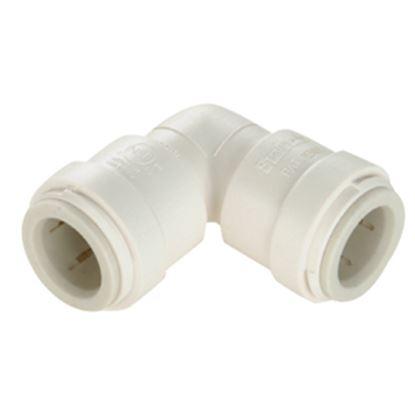 """Picture of Sea Tech 35 Series 1/2"""" Female QC Copper Tube Off-White Polysulfone Fresh Water 90 Deg Union El 013517-10 10-8170"""