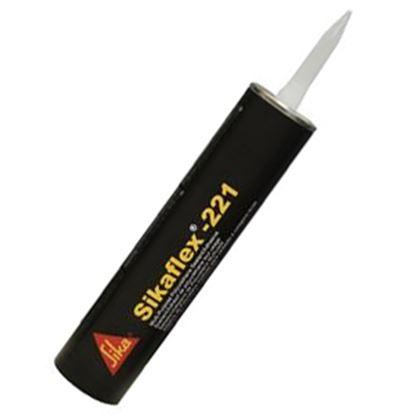 Picture of Sika Sikaflex (R)-221 Aluminum Gray 300 Milliliter Tube Adhesive Sealant 017-90892 13-0006
