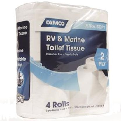 Picture of Camco TST (TM) 4-Rolls 2-Ply Toilet Tissue 40274 13-0181