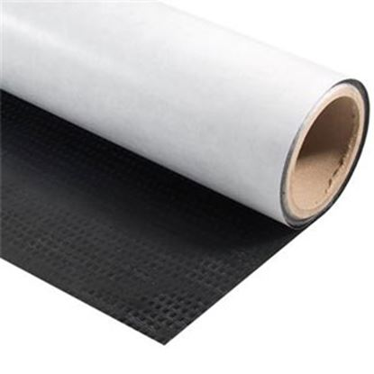Picture of AP Products Scrim Shield (TM) Black Polyethylene RV Bottom Board Repair Tape w/ Adhesive Backing 022-BP6180 13-1807