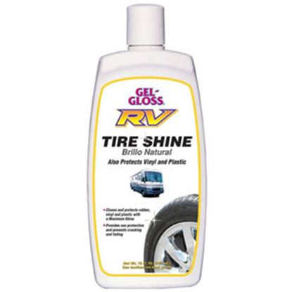 Picture of Gel-Gloss  16 Ounce Tire Shine Tire Cleaner RVTS-16 13-4425