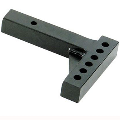"""Picture of Husky Towing  10""""L x 4-1/4"""" Rise x 6-3/4"""" Drop Weight Distribution Hitch Shank 31518 14-1303"""