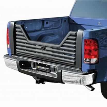 Picture of Stromberg Carlson 4000 Series Lockable Glass Filled Composite V-Shaped Louvered Vented Tailgate for 2003-2009 Dodge VGD-02-40