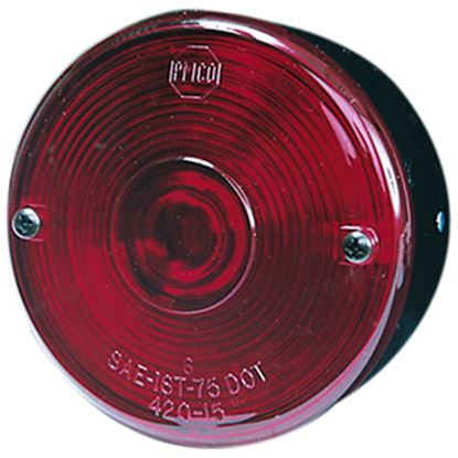 """Picture of Peterson Mfg.  Red 3-3/4"""" Stop/ Turn/ Tail Light V428S 18-0120"""