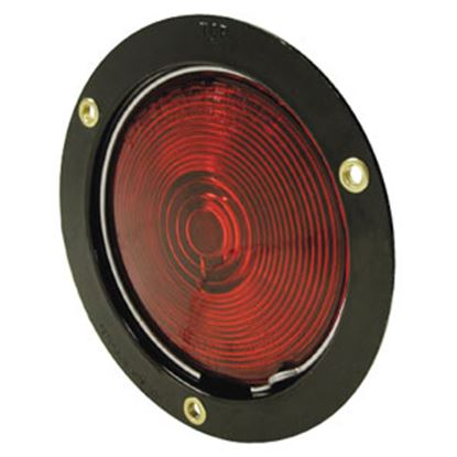 """Picture of Peterson Mfg.  Red 4"""" Round Turn/ Tail Light V413 18-0320"""