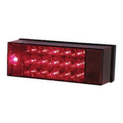 """Picture of Peterson Mfg.  Red 7.94""""x2.88"""" LED Stop/ Turn/ Tail/ License Light V856L 18-0362"""