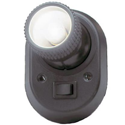 Picture of AP Products Europa Black Surface Mount 12V Europa Reading Light w/Switch 005-06001048 18-1564