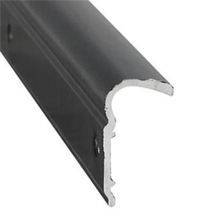 "Picture of AP Products  1-1/8""W x 1/2""T x 12'L Black Roof Trim 021-51102-12 20-6933"