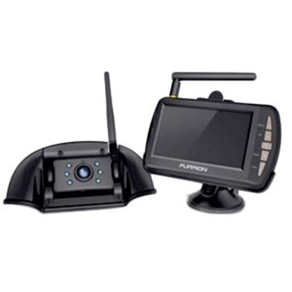 "Picture of Furrion  Black 480x272 Roof Mounted Back Up Camera w/4.3"" LCD Display 381556 24-2930"