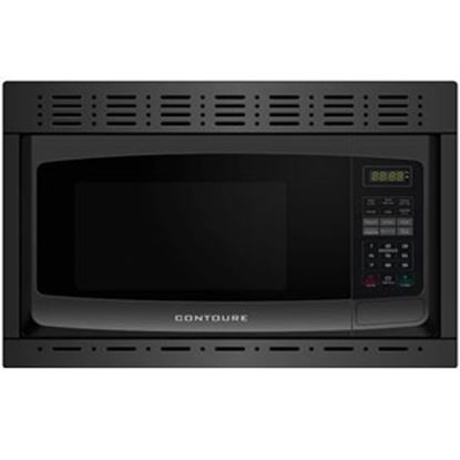 Picture of Contoure  1 CF 900W Black Microwave w/Trim Kit  251135