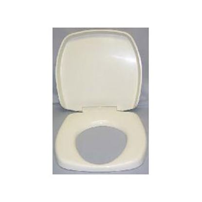 Picture of Thetford  Parchment Square Seat & Cover For Thetford Aurora Toilet 36769 44-0455