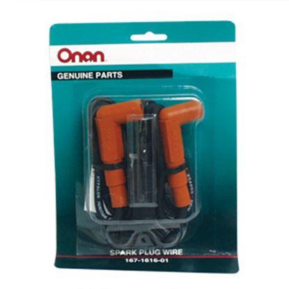 "Picture of Cummins Onan  9""L Spark Plug Wire 167-1616-01 48-2088"