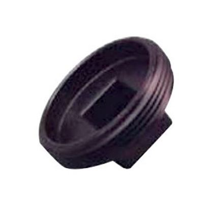 """Picture of Lasalle Bristol  Black ABS 3"""" MPT Cleanout Plug 633053 69-9253"""
