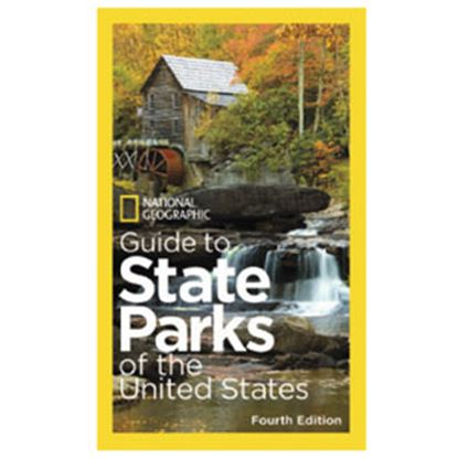 """Picture of National Geographic  384-Pages 8-1/2""""H x 5-1/4""""W U.S State Park Atlas By National Geographic BK26208898 69-9363"""