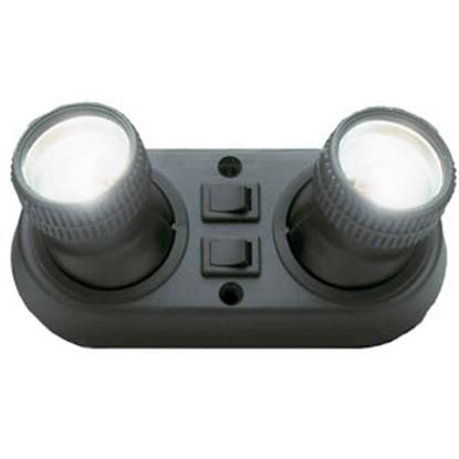 Picture of AP Products Europa Black Surface Mount 12V Europa Reading Light w/Switch 005-06001037 71-0311