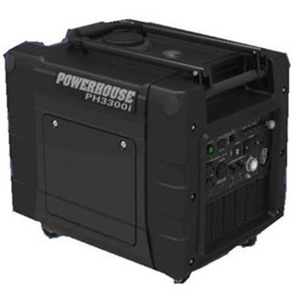 Picture of Powerhouse  3300W Gasoline Electric/Recoil Start Inverter Generator 67226 72-0679