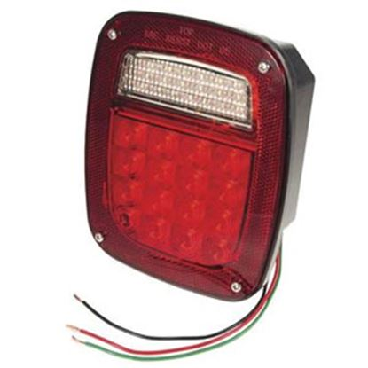 Picture of Grote Hi Count (R) Red LED Tail Light Assembly G5082-5 93-6674